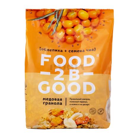 Գրանոլա «Food-2B-Good» չիչխան, եղեսպակ 300գ