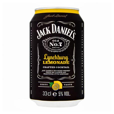 Կոկտեյլ «Jack Daniel`s Lynchburg Lemonade» 330մլ