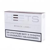 Տաքացվող ծխախոտի գլանակներ «Heets Bronze Label»
