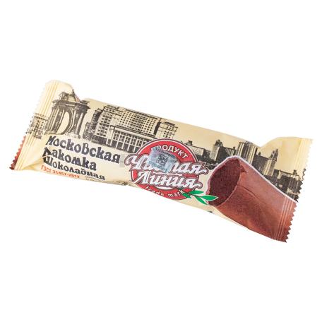Պաղպաղակ «Чистая Линия Московская Лакомка» շոկոլադե 80գ