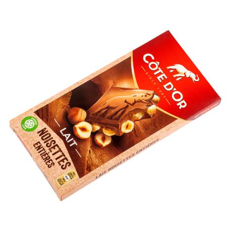 Շոկոլադե սալիկ «Côte D`Or Lait» 180գ