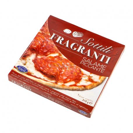 Պիցցա «Food Italia Sottili e Fragranti Salame Piccante» 310գ