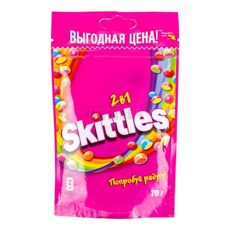 Դրաժե «Skittles 2in1» մրգային 70գ