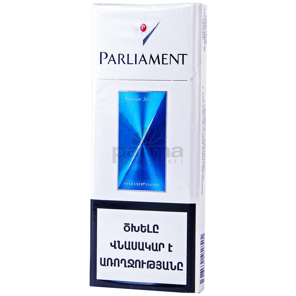 сигареты парламент супер слимс купить в