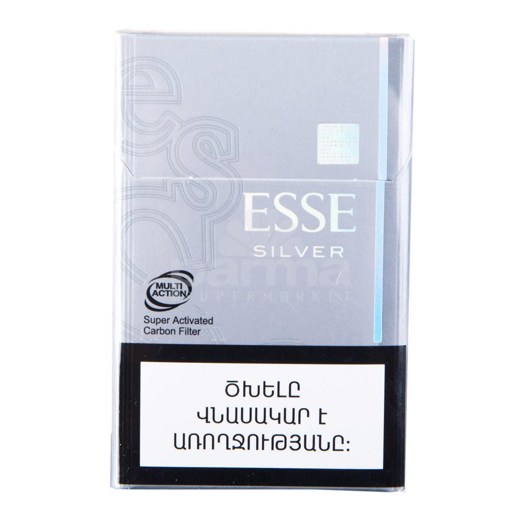Сигареты esse silver купить в москве купить табак для сигарет развесной в уфе