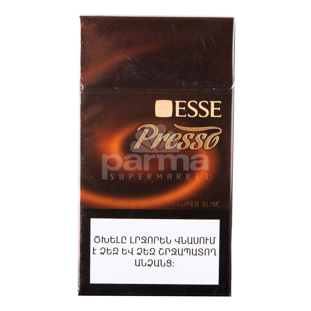 Сигареты esse presso купить купить сигареты в интернете в европе